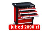 Profesjonalny wózek warsztatowy (216 narzędzi) Nr Kat. 79156