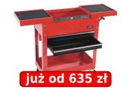 Wózek narzędziowy z 2 szufladami (bez wyposażenia) Nr Kat. 79518